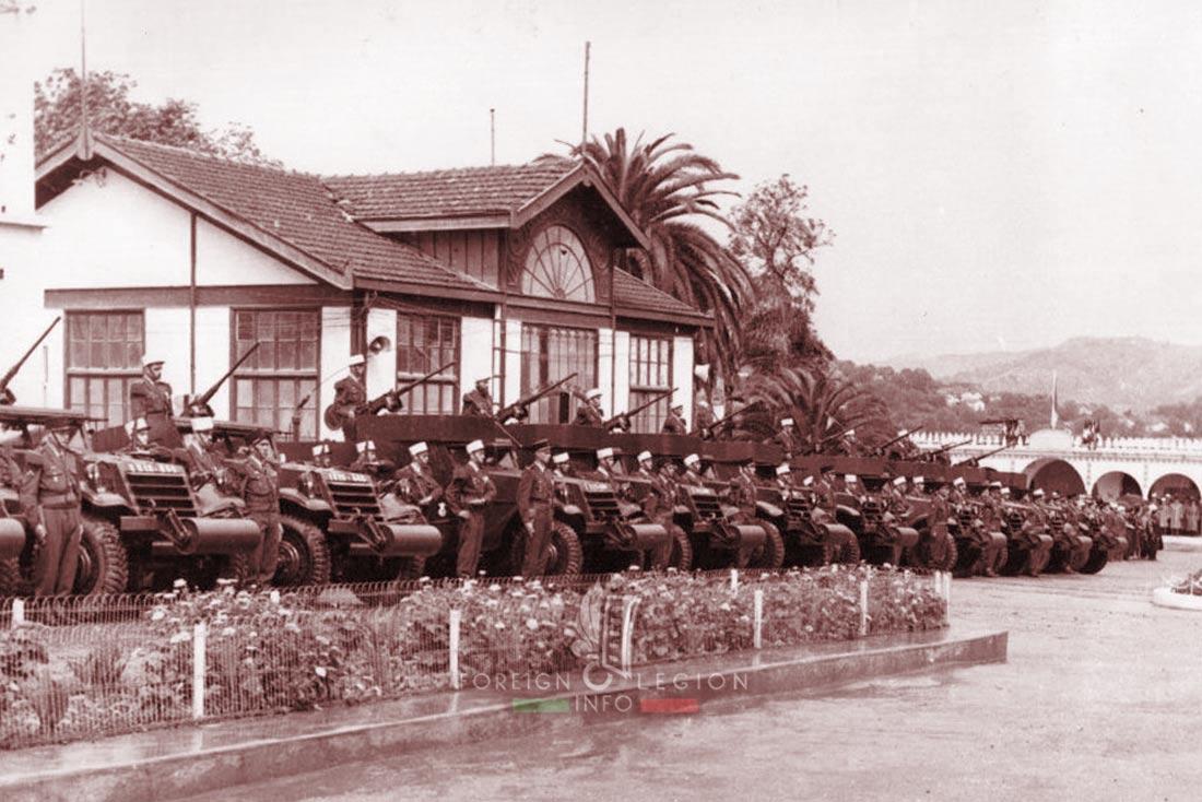 3e REI - 3 REI - Foreign Legion Etrangere - 1957 - Algeria