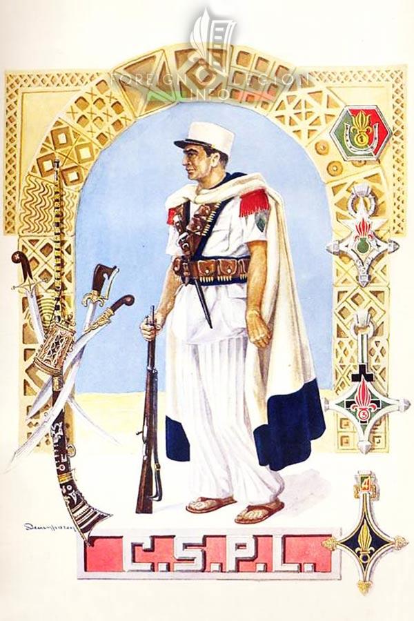 CSPL - Saharan legionnaire - Foreign Legion Etrangere - Algeria