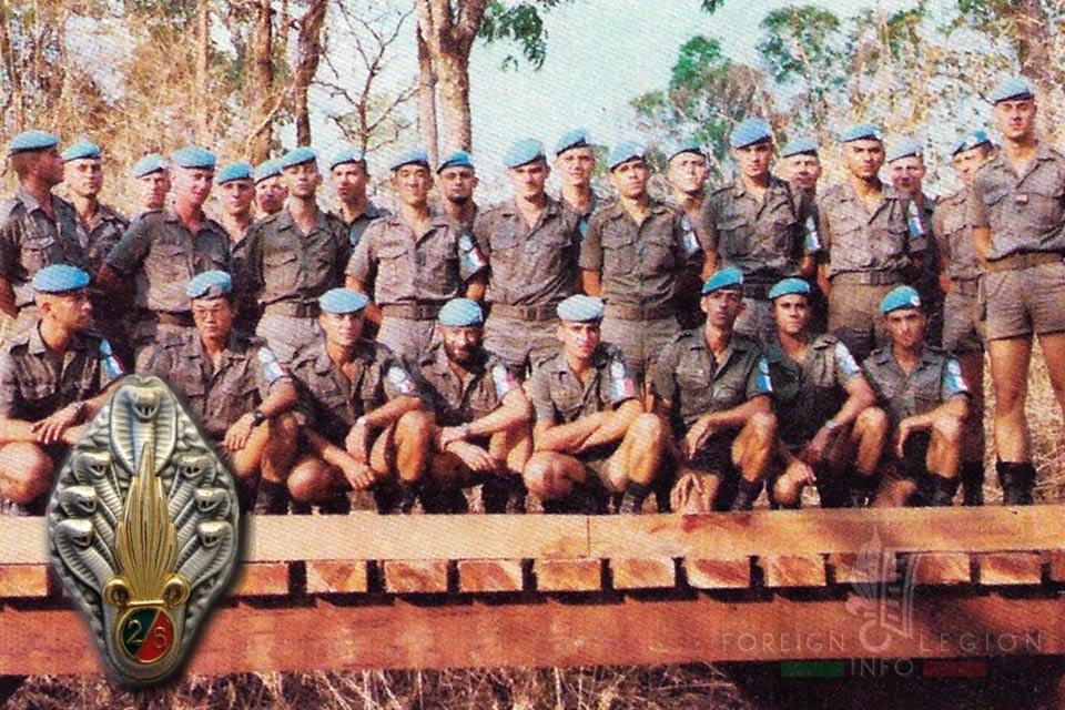 6e REG - 6 REG - Foreign Legion Etrangere - 1993 - Cambodia