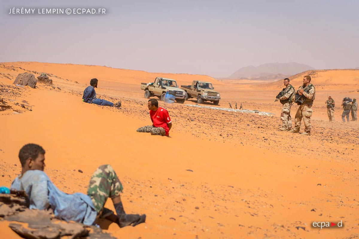 2e REP - 2 REP - Foreign Legion Etrangere - 2015 - Niger - Salvador Pass - Operation Kounama 3