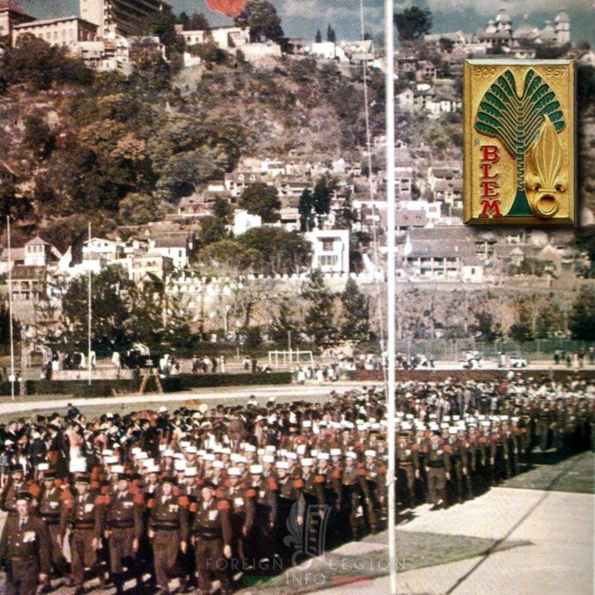 BLEM - Foreign Legion Etrangere - 1957 - Tananarive - Madagascar