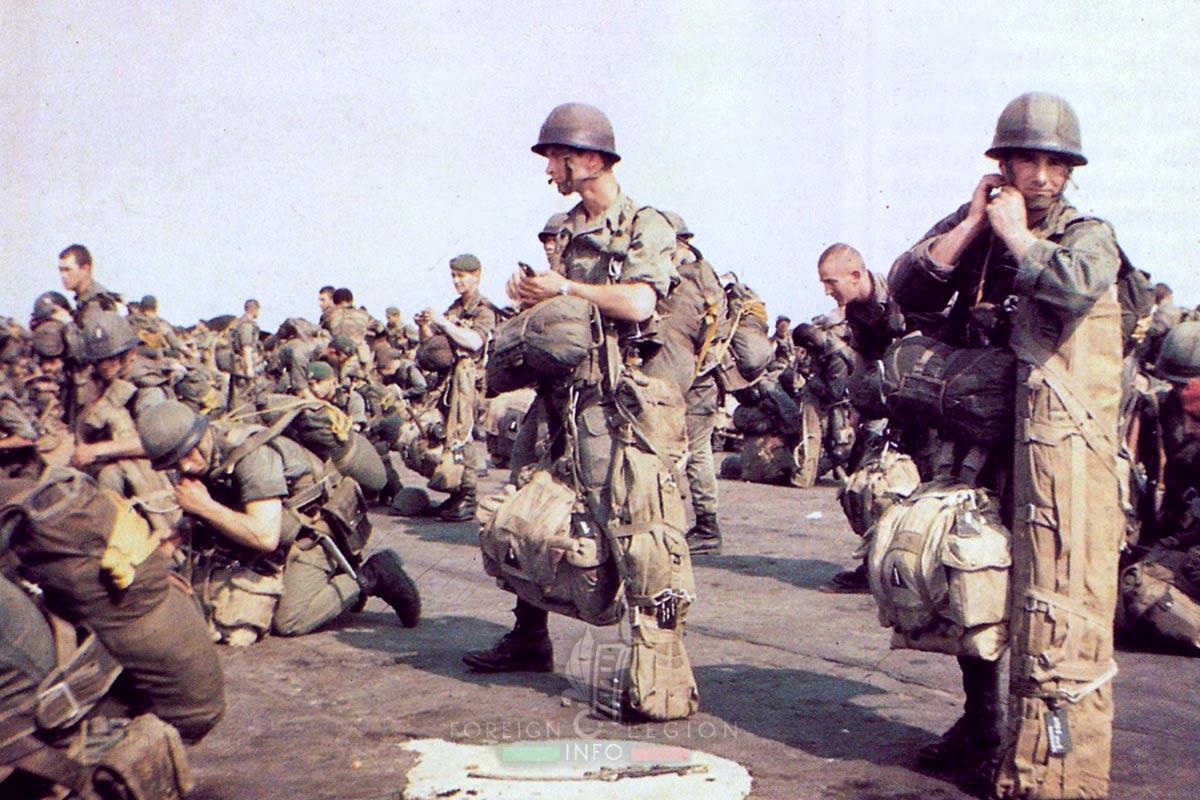 2e REP - 2 REP - Foreign Legion Etrangere - 1978 - Kolwezi