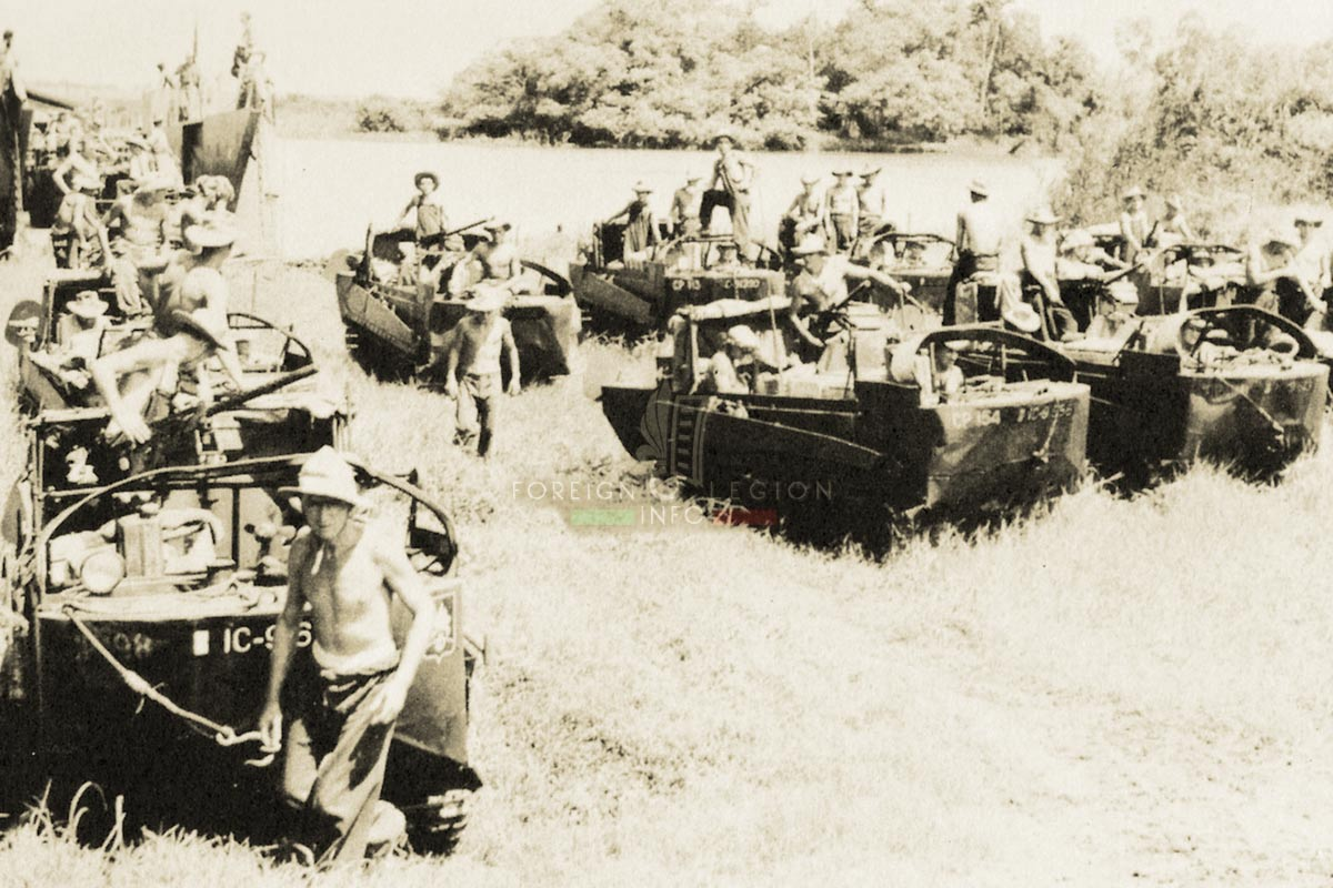 1er REC - 1 REC - Foreign Legion Etrangere - 1950s - Indochina