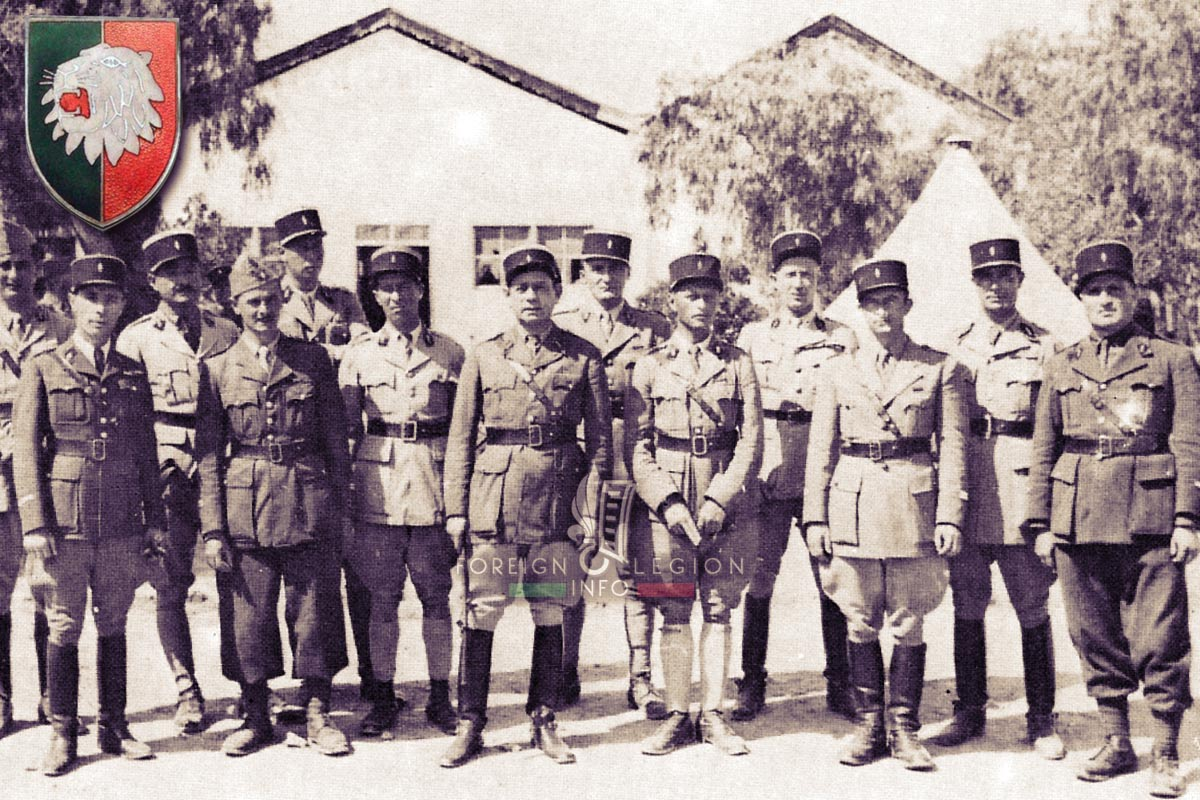 GRDI 97 - GRD97 - Foreign Legion Etrangere - 1940 - Tunisia - Officers