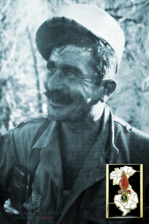 5e REI - 5 REI - legionnaire - Foreign Legion Etrangere - 1959 - Algeria