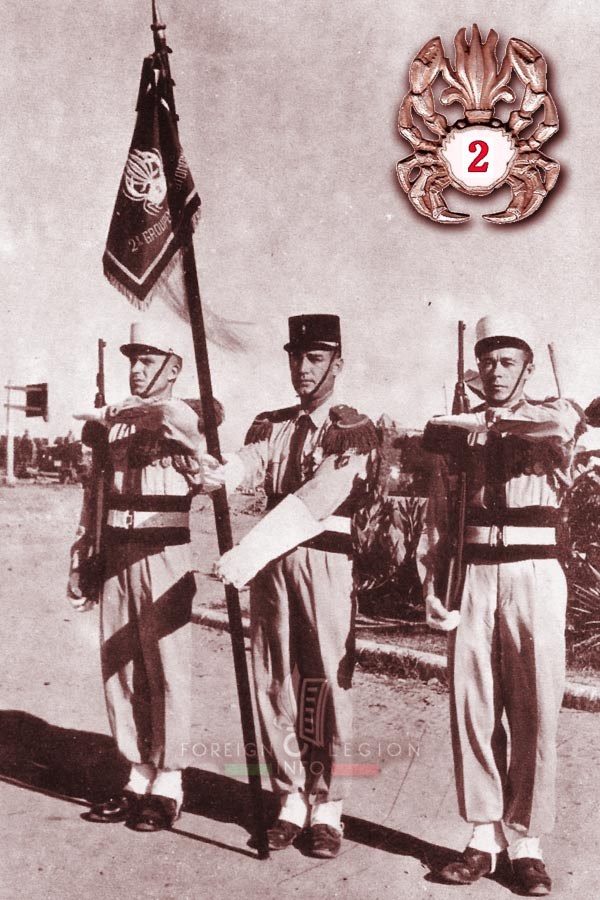 1er REC - 1 REC - Foreign Legion Etrangere - 1954 - 2e GA - Indochina