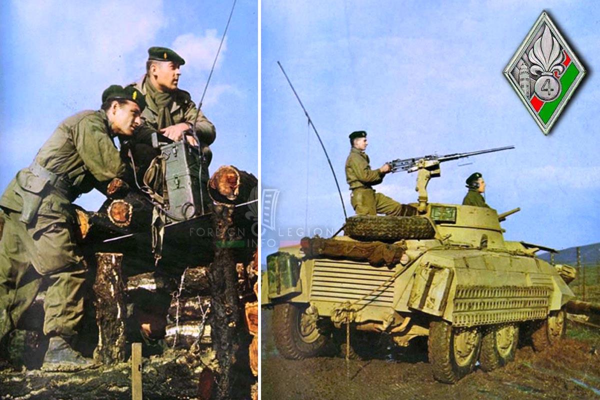 4e REI - 4 REI - Foreign Legion Etrangere - 1960 - Algeria