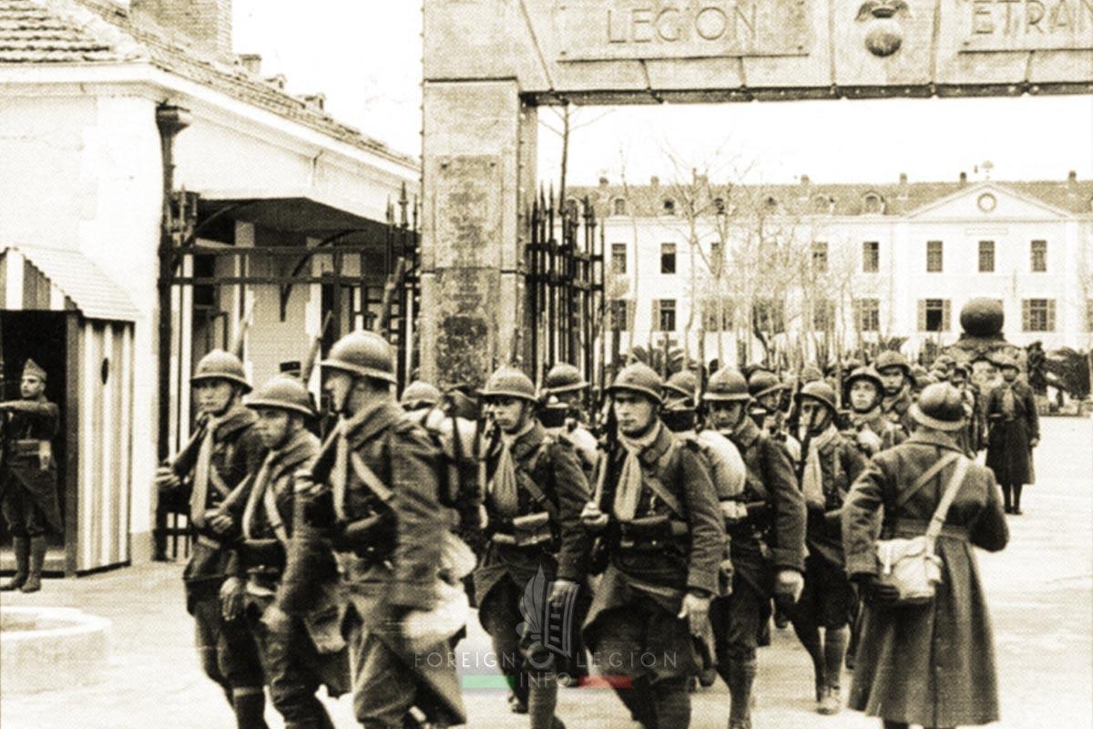 13e DBMLE - 13 DBMLE - Foreign Legion Etrangere - 1940 - Algeria