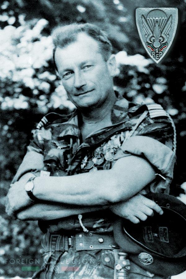 1er REP - 1 REP - Foreign Legion Etrangere - 1958 - Lieutenant Colonel Pierre Jeanpierre