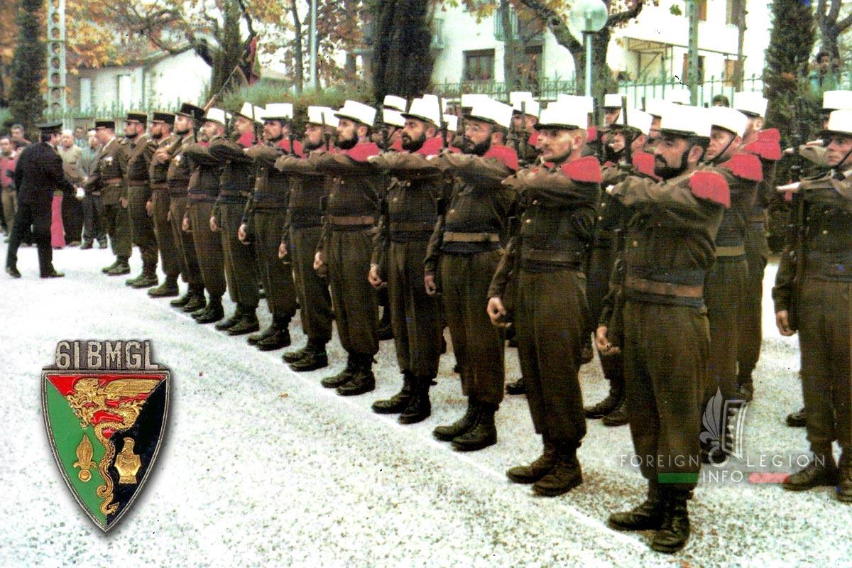 61e BMGL - 61 BMGL - Foreign Legion Etrangere - 1978 - Millau - France