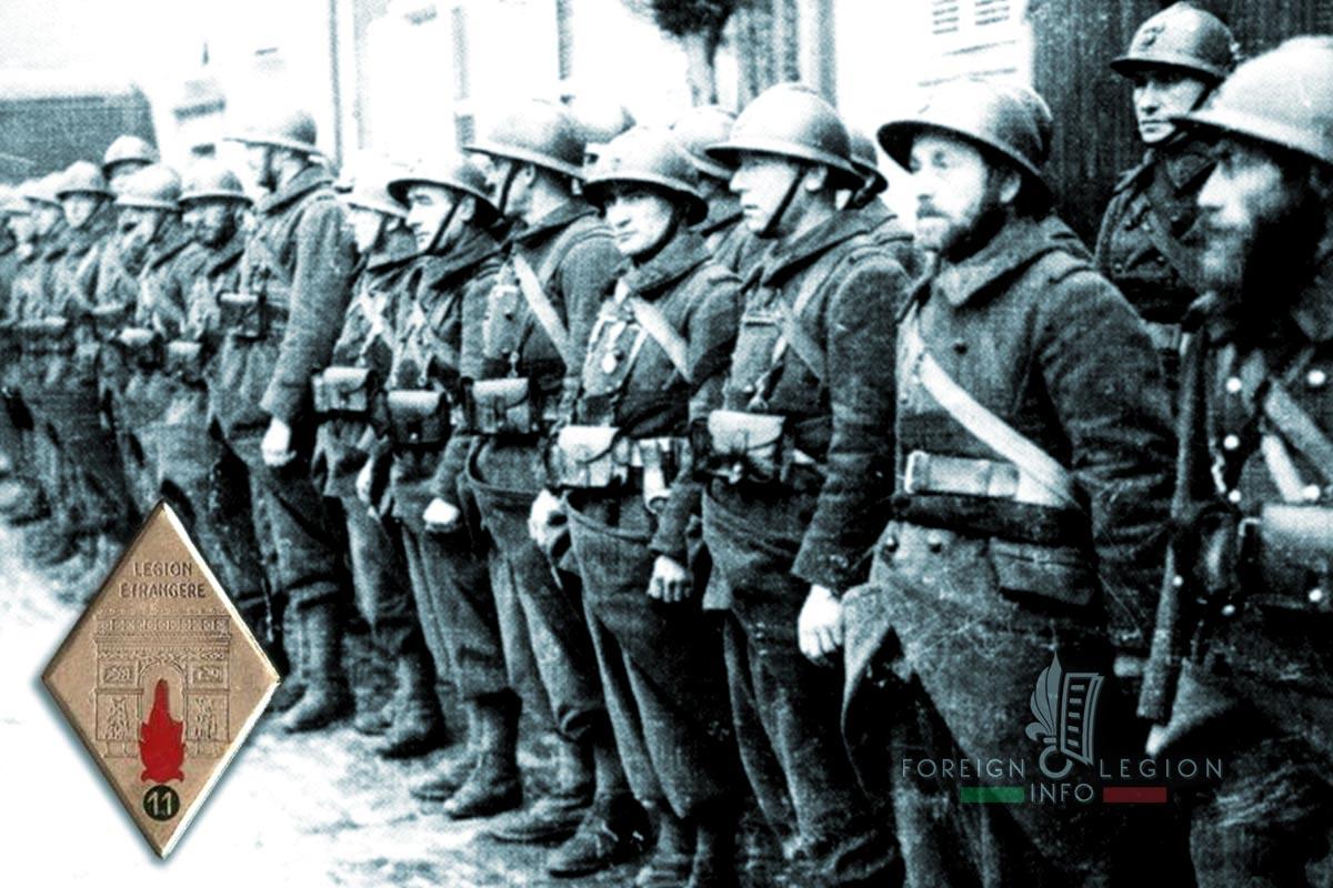 11e REI - 11 REI - Foreign Legion Etrangere - 1939 - Valbonne - France