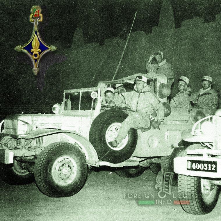 4e CSPL - 4 CSPL - Foreign Legion Etrangere - 1957 - Timimoun - Algeria