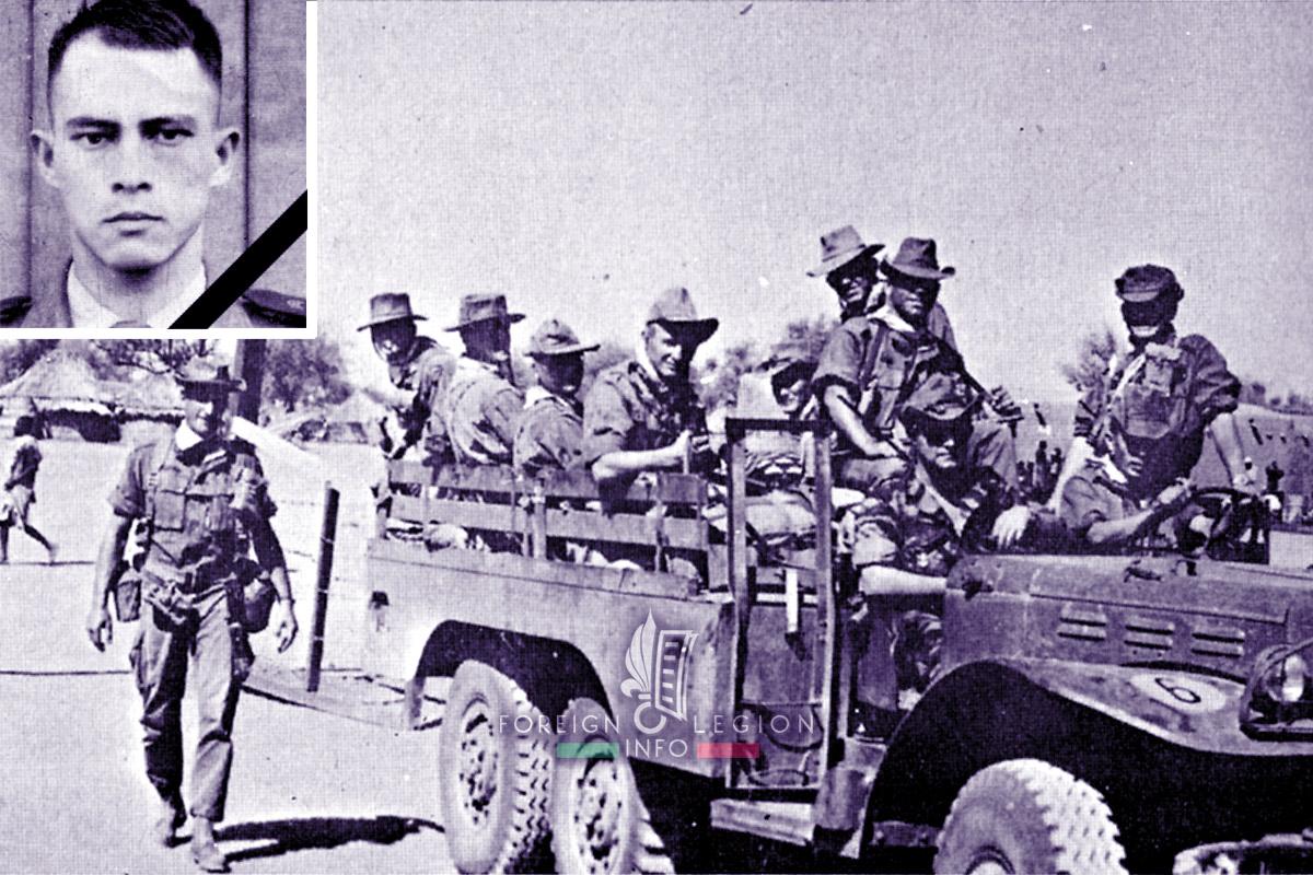 2e REP - 2 REP - Foreign Legion Etrangere - 1969 - Maxime Depuis - Chad