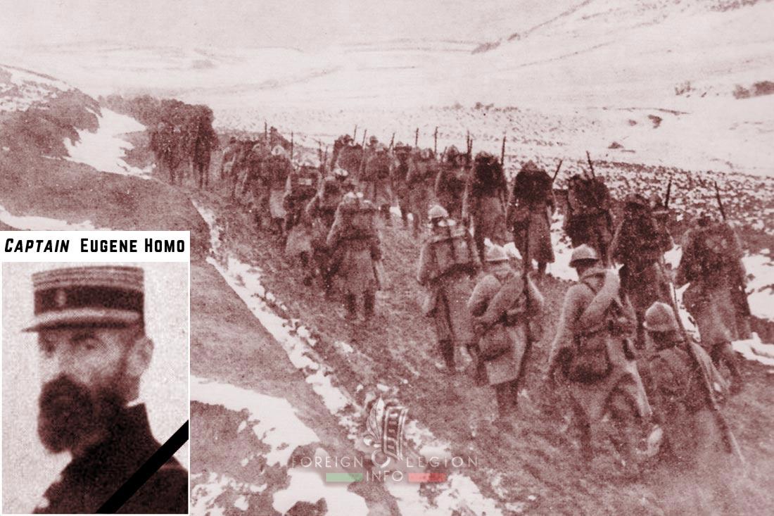 1er RMA - 1 RMA - Foreign Legion Etrangere - 1915 - Orient - Captain Eugene Homo