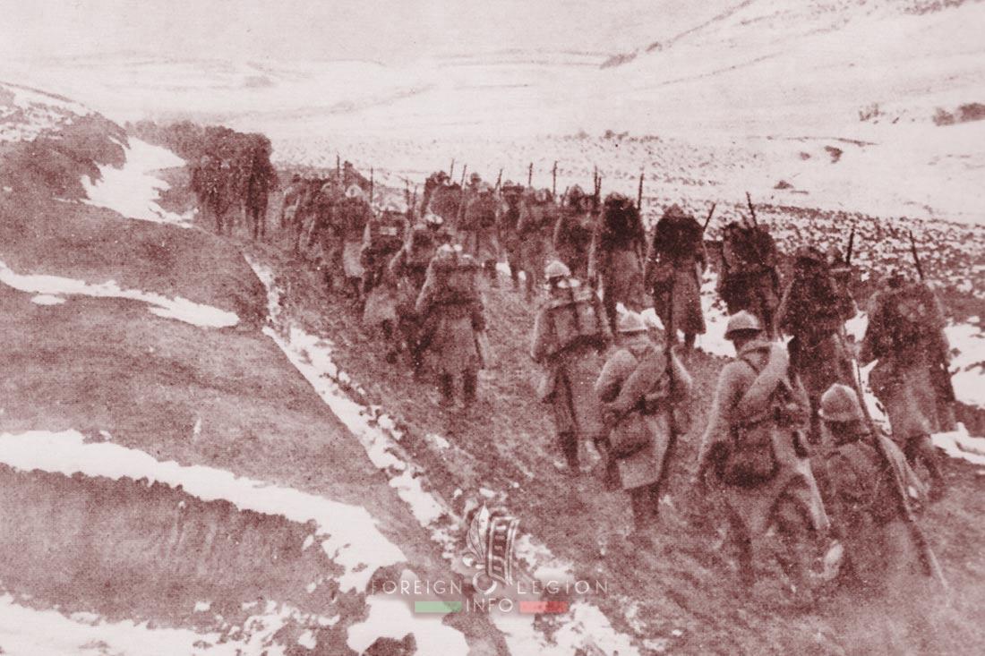 1er RMA - 1 RMA - Foreign Legion Etrangere - 1915 - Orient