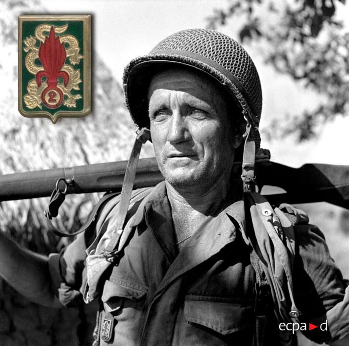 2e REI - 2 REI - Foreign Legion Etrangere - 1953 - Indochina