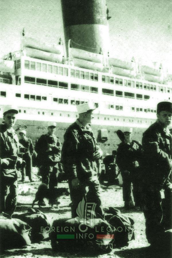 2e BEP - 2 BEP - Foreign Legion Etrangere - 1955 - Mers El Kebir