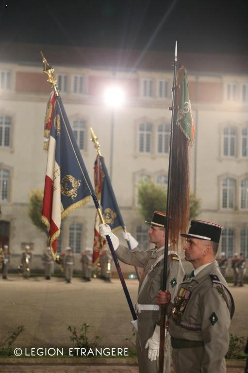2e REI - 1er REC - 1er REG - Foreign Legion Etrangere - Fourragere - 2012