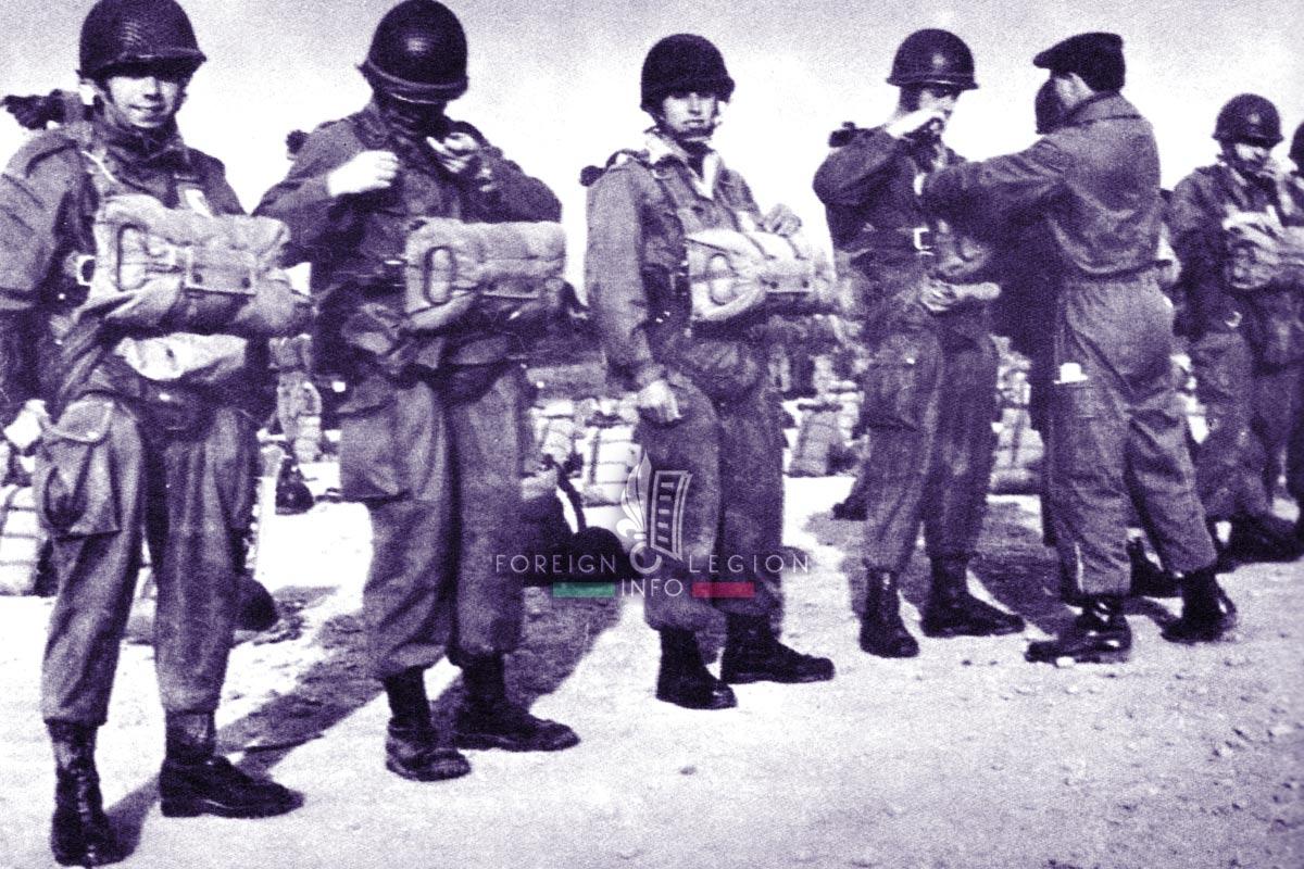 2e REP - 2 REP - Foreign Legion Etrangere - 1956 - Algeria