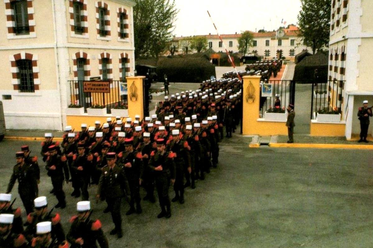 4e RE - 4 RE - Foreign Legion Etrangere - 1980's - Caserne Lapasset - Castelnaudary - France