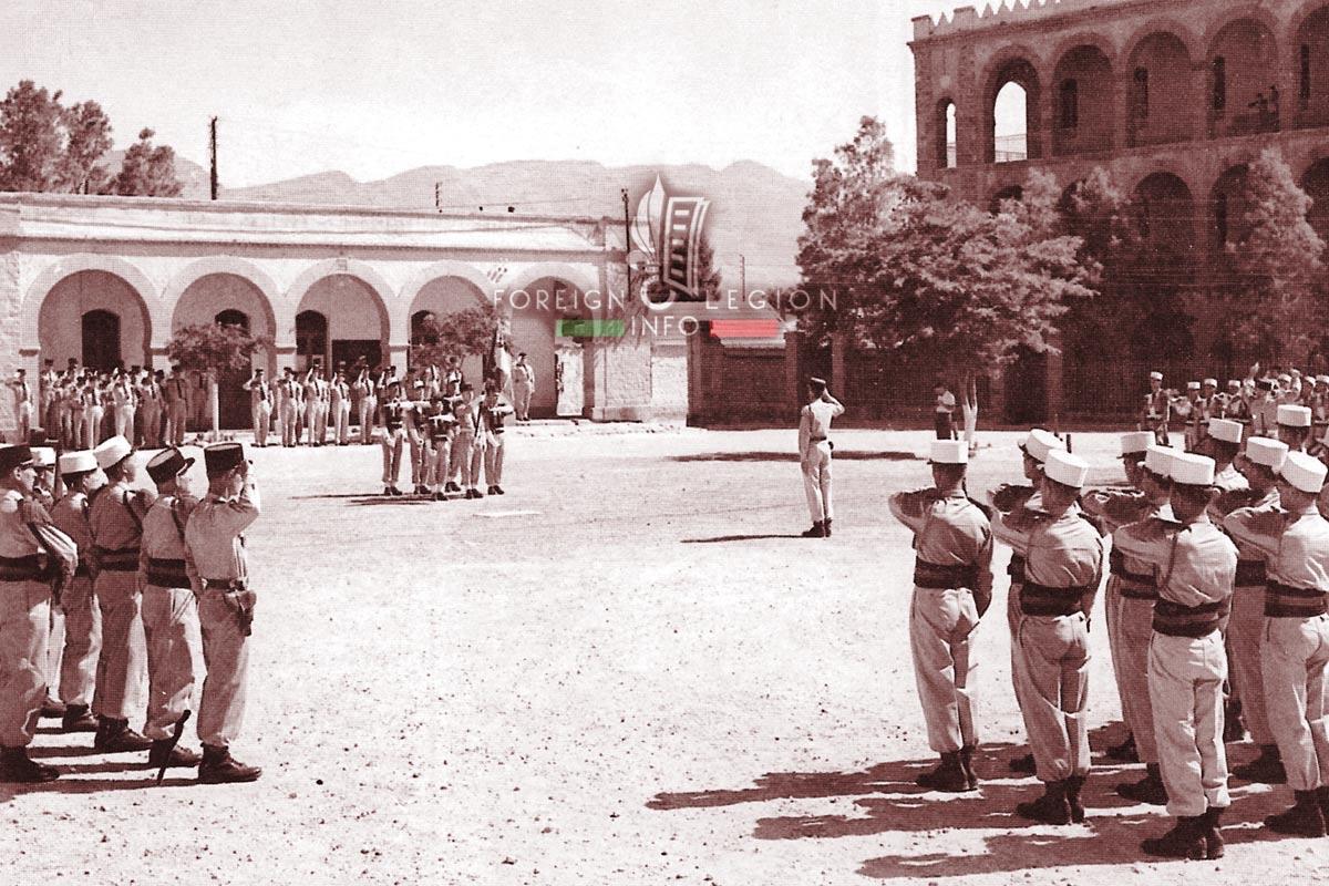 2e REI - 2 REI - Foreign Legion Etrangere - 1959 - Ain Sefra - Algeria