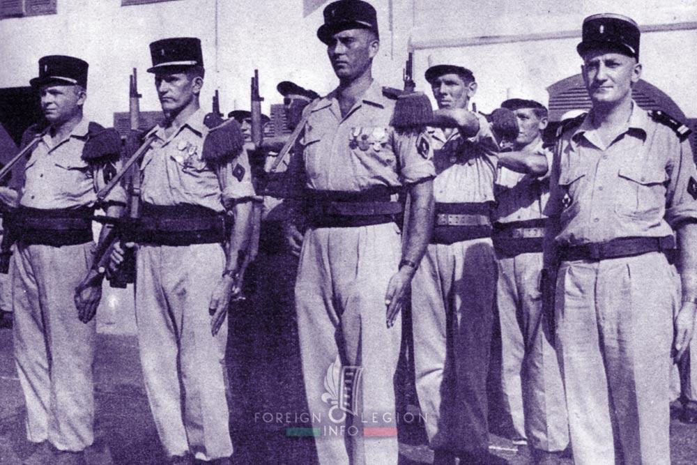 DLEM - BLEM - Foreign Legion Etrangere - 1956 - Diego Suarez - Madagascar