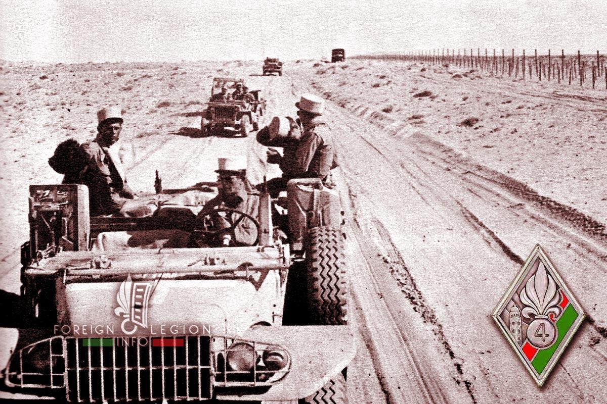 4e REI - 4 REI - Foreign Legion Etrangere - 1959 - Algeria