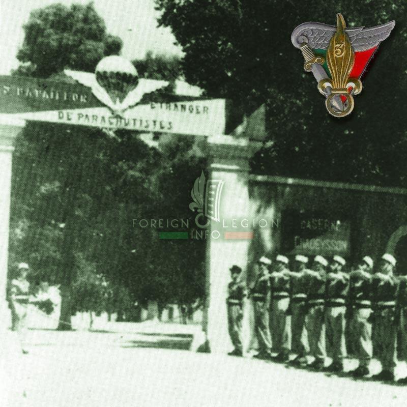 3e BEP - 3 BEP - Foreign Legion Etrangere - 1953 - Setif - Algeria