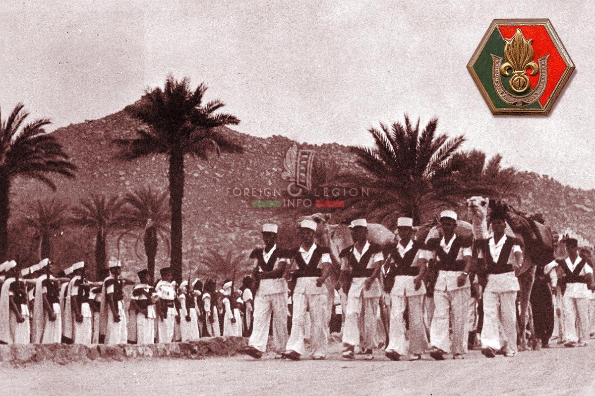 1re CSPL - 1 CSPL - Foreign Legion Etrangere - 1957 - Djanet - Algeria