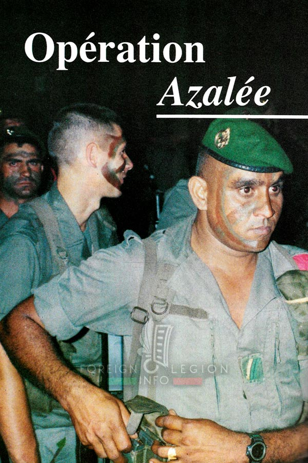 DLEM - Mayotte - Foreign Legion Etrangere - 1995 - Operation Azalee