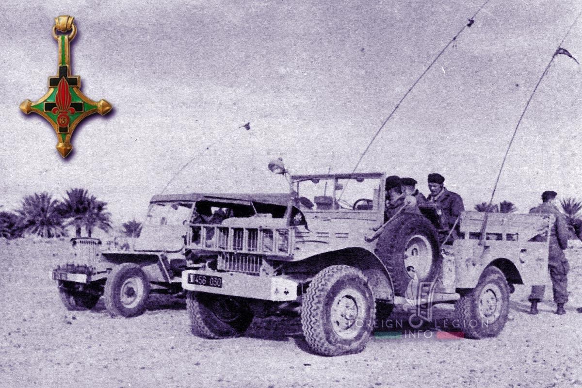 3e CSPL - 3 CSPL - Foreign Legion Etrangere - 1960 - Algeria - Dodge