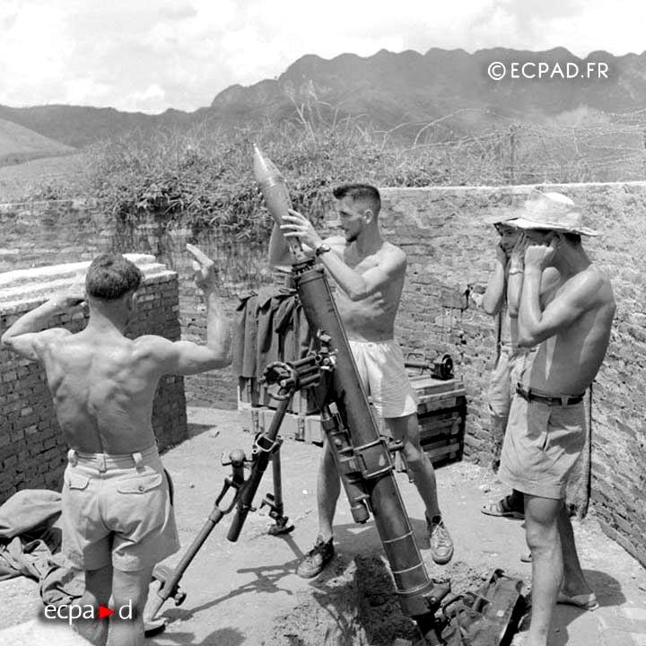 3e REI - 3 REI - Foreign Legion Etrangere - 1950 - Poste 41 Est - That Khe