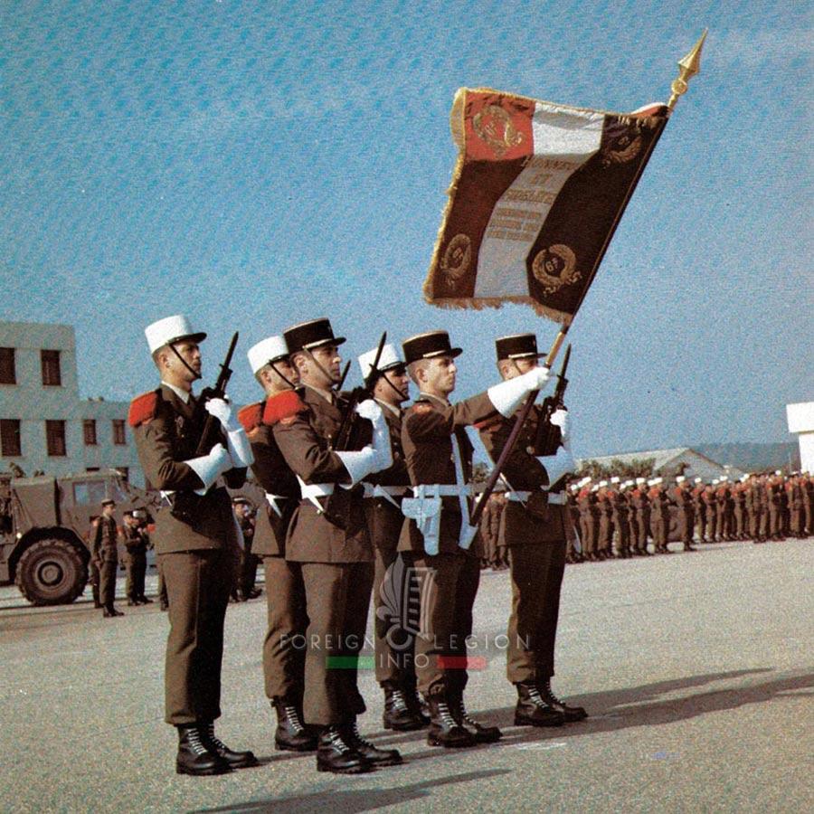 6e REG - 6 REG - Foreign Legion Etrangere - 1984 - Laudun