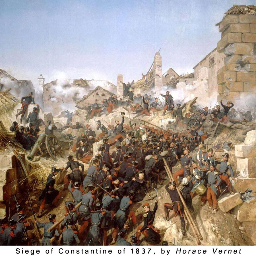 Siege of Constantine - Foreign Legion Etrangere - 1837 - Algeria