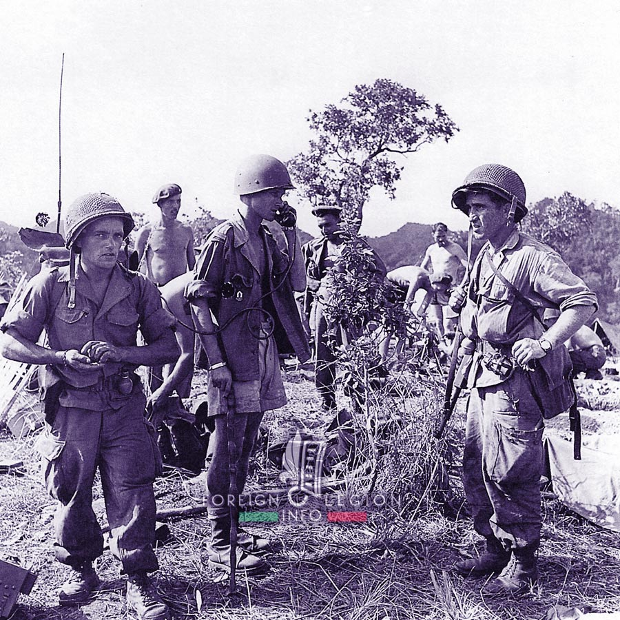 13e DBLE - 13 DBLE - Foreign Legion Etrangere - 1953 - Operation Mouette - Vietnam - Indochina