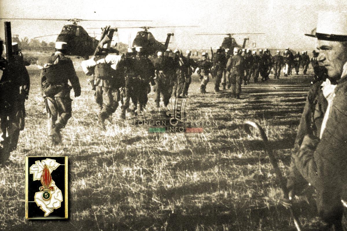 5e REI - 5 REI - Foreign Legion Etrangere - 1958 - Algeria
