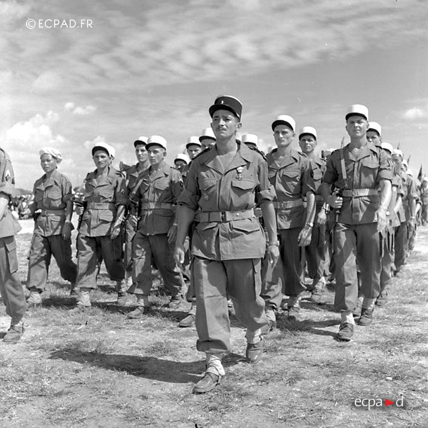 5e REI - 5 REI - Foreign Legion Etrangere - 1951 - Indochina