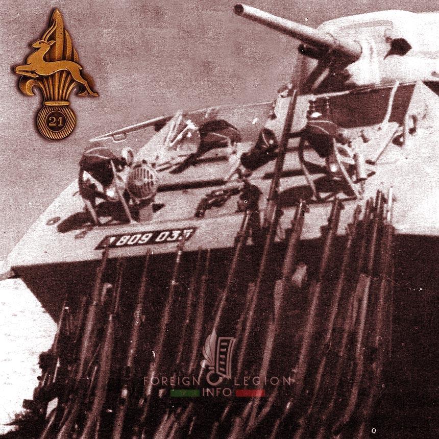 21e CPLE - 21 CPLE - Foreign Legion Etrangere - 1955 - Algeria