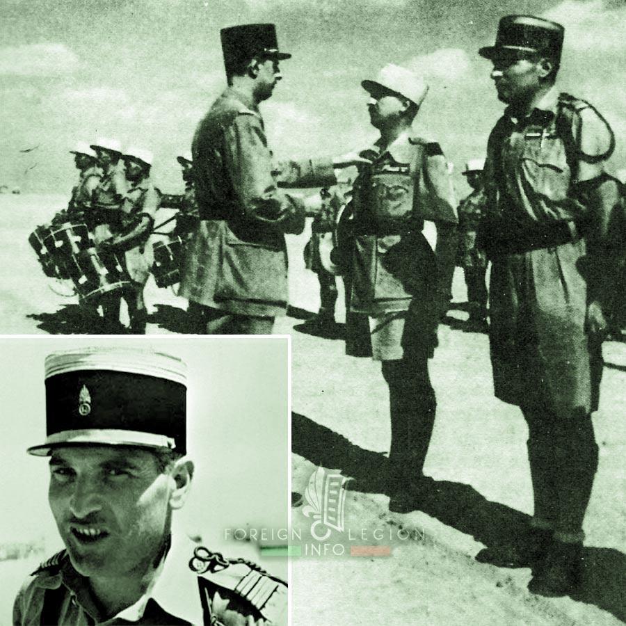 13e DBLE - 13 DBLE - Dimitri Amilakvari - Foreign Legion Etrangere - 1942 - Egypt