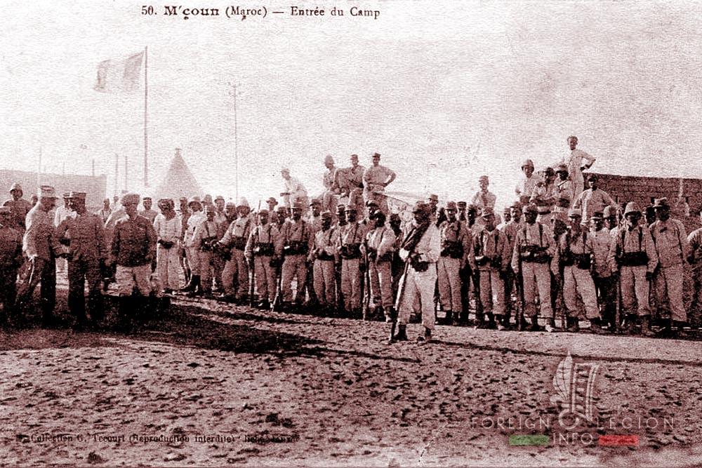 1er RE - 1 RE - Foreign Legion Etrangere - M'Coun - Morocco