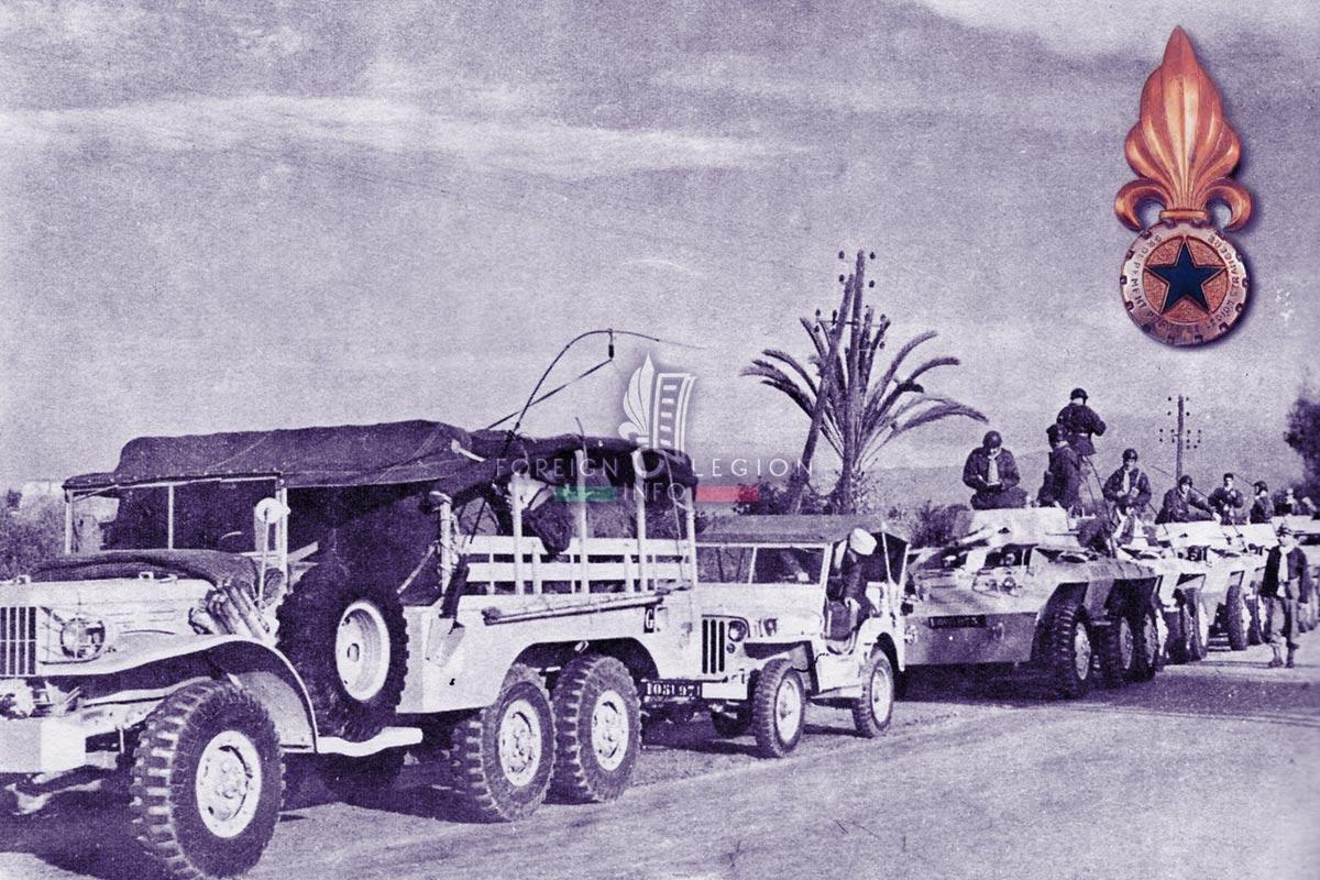 GPLEM - Foreign Legion Etrangere - Morocco - 1954