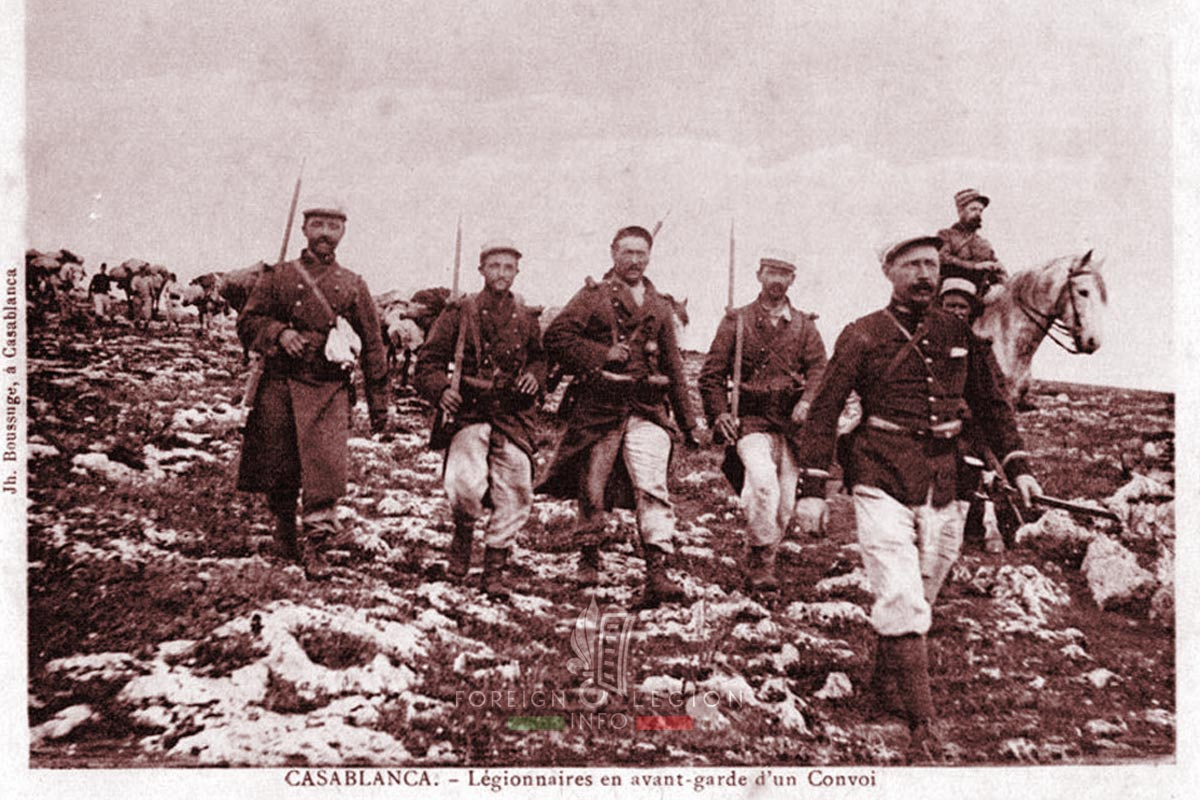 Legionnaires - Foreign Legion Etrangere - Morocco - 1907