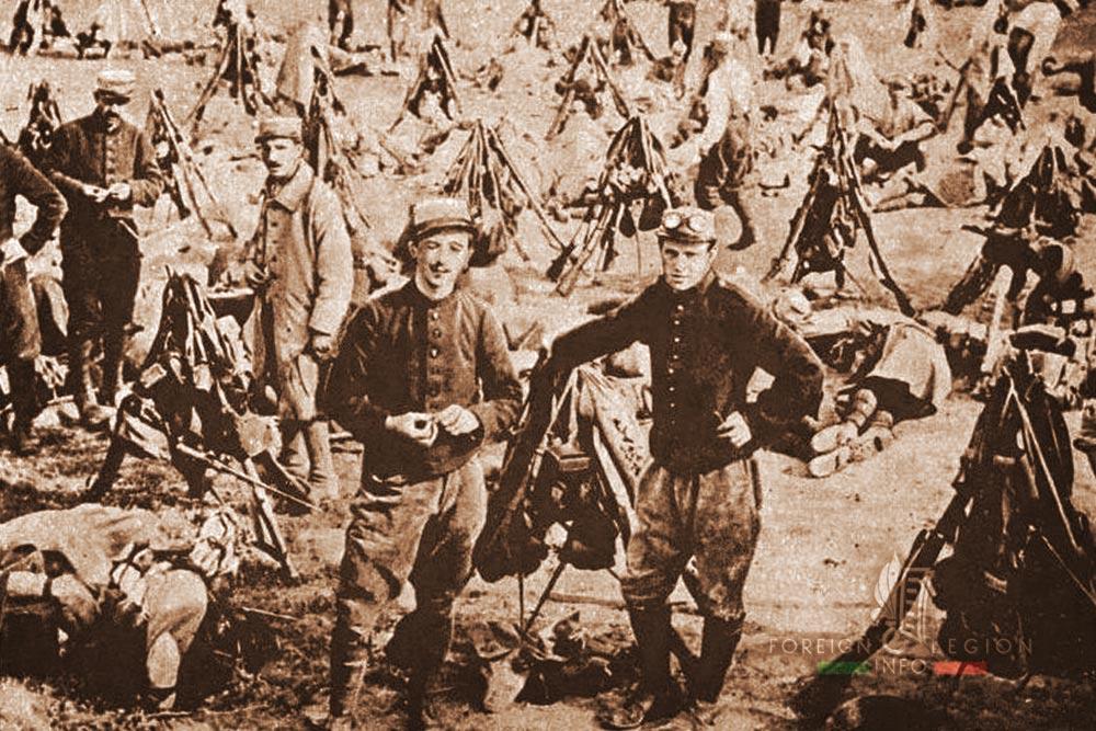 Legionnaires - Foreign Legion Etrangere - France - 1915