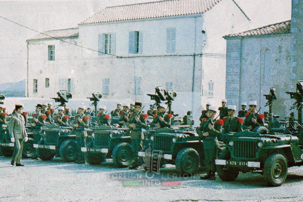 2e REI - 2 REI - Foreign Legion Etrangere - Bonifacio - Corsica - 1982