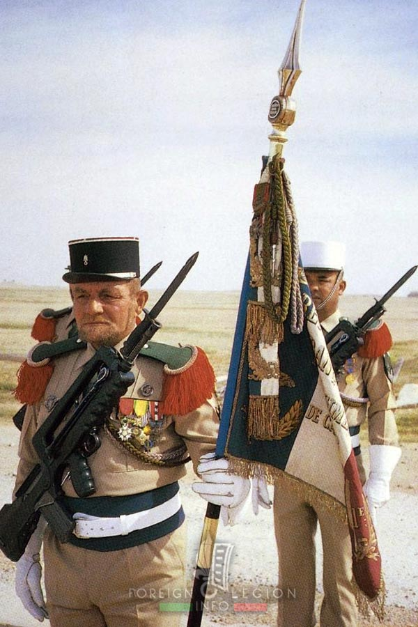 1er REC - 1 REC - Foreign Legion Etrangere - Iraq - Operation Daguet - 1991