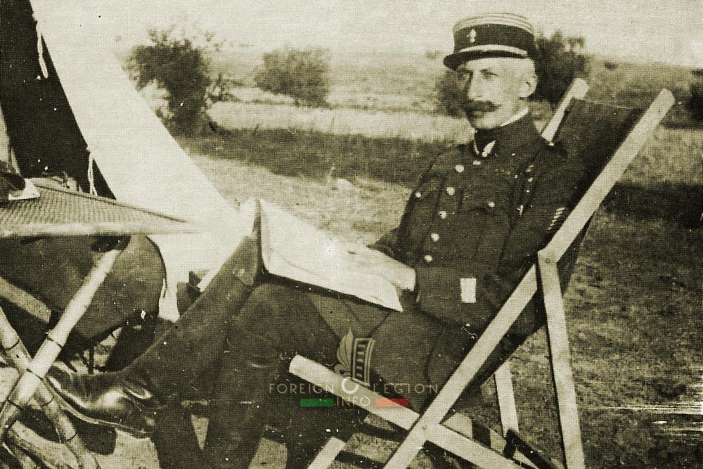 1er REC - 1 REC - Foreign Legion Etrangere - Syria - Captain Landriau - 1925