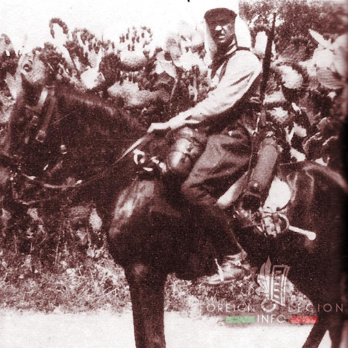 1er REC - 1 REC - Foreign Legion Etrangere - Syria - Lebanon - Levant - 1925