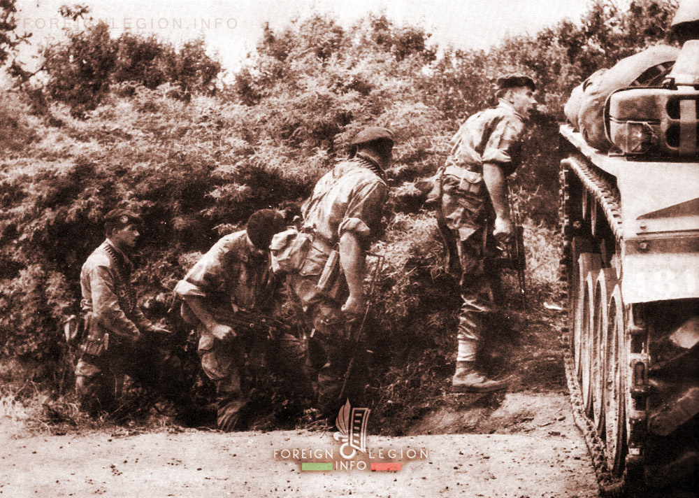 2e REP - 2 REP - Foreign Legion Etrangere - 1959 - Algeria