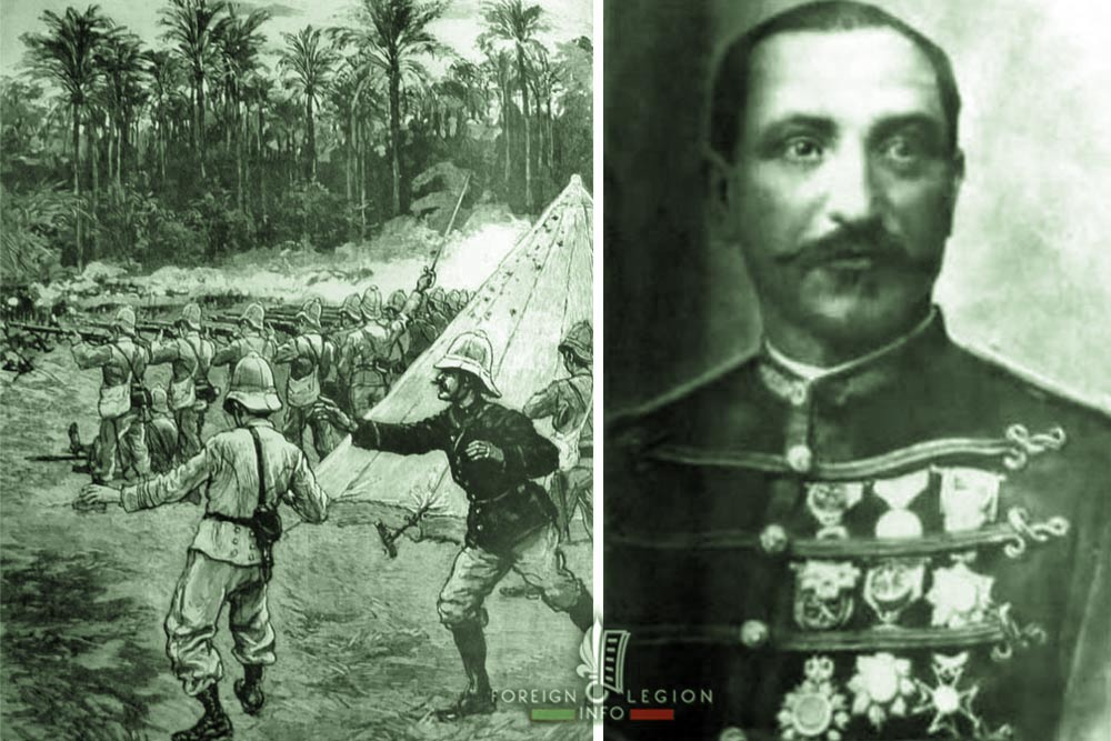 Battle of Dogba - Foreign Legion Etrangere - Major Faurax - 1892 - Second Franco-Dahomean War