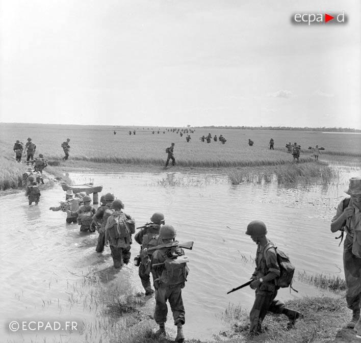 2e BEP - 2 BEP - Foreign Legion Etrangere - Operation Brochet - 1953